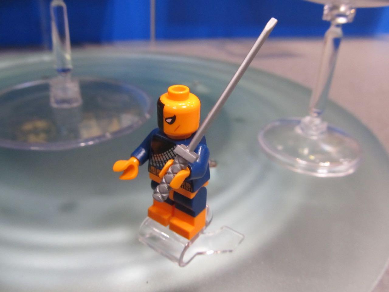 Lego Deathstroke mini figure