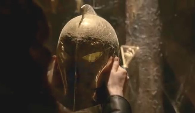 The Helm of Nabu on NBC's Constantine