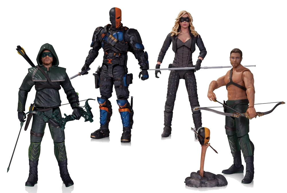 First wave Arrow, Deathstroke, Black Canary