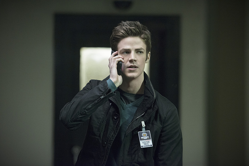 """The Flash -- """"Tricksters"""" -- Image FLA117A_0267b -- Pictured: Grant Gustin as Barry Allen -- Photo: Diyah Pera/The CW -- © 2015 The CW Network, LLC. All rights reserved."""