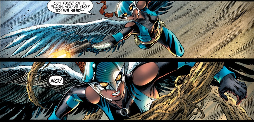 Hawkgirl, Earth 2