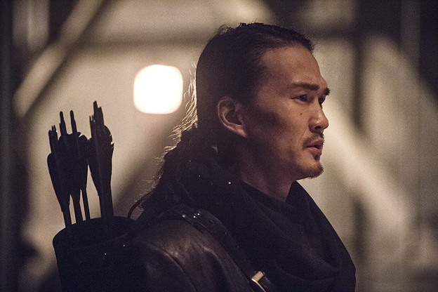 "Arrow--""Suicidal Tendencies""--Image AR317A_0079b--Pictured: Karl Yune as Maseo--Photo: Cate Cameron/The CW--© 2015 The CW Network, LLC. All rights reserved."