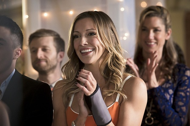 "Arrow--""Suicidal Tendencies""--Image AR317A_0240b--Pictured: Katie Cassady as Laurel Lance--Photo: Katie Yu/The CW--© 2015 The CW Network, LLC. All rights reserved."