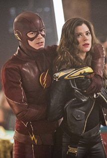 "The Flash -- ""Rogue Time"" -- Image FLA116B_0129b -- Pictured (L-R): Grant Gustin as Barry Allen/Flash and Peyton List as Lisa Snart -- Photo: Dean Buscher/The CW -- © 2015 The CW Network, LLC. All rights reserved."