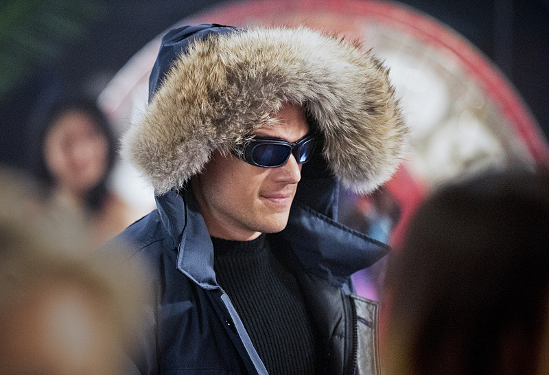 "The Flash--""Rogue Time""--image FLA116A_0011bc--Wentworth Miller as Leonard Snart/Captain Cold--Photo: Dean Buscher/The CW--© 2015 The CW Network, LLC. All rights reserved."