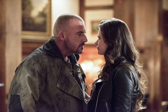 "The Flash--""Rogue Time""--image FLA116A_0530b--Pictured: (L-R) Dominic Percell as Mick Rory/Heat Wave and Peyton List as Lisa Snart--Photo: Dean Buscher/The CW--© 2015 The CW Network, LLC. All rights reserved."