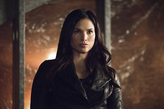 "Arrow -- ""Al Sah-Him"" -- Image AR321A_0049b -- Pictured: Katrina Law as Nyssa Al Ghul -- Photo: Dean Buscher/The CW -- © 2015 The CW Network, LLC. All Rights Reserved."
