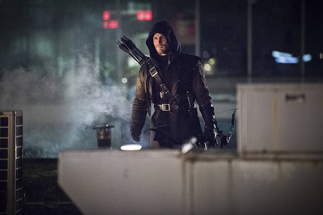 "Arrow -- ""Al Sah-Him"" -- Image AR321A_0203b -- Pictured: Stephen Amell as Oliver Queen / Arrow -- Photo: Dean Buscher/The CW -- © 2015 The CW Network, LLC. All"