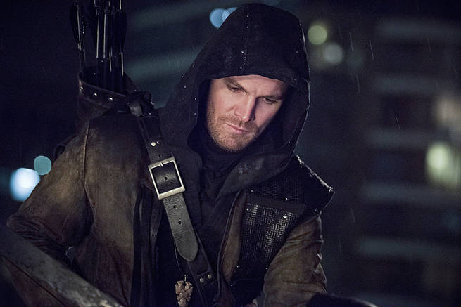 "Arrow -- ""Al Sah-Him"" -- Image AR321A_0213b -- Pictured: Stephen Amell as Oliver Queen / Arrow -- Photo: Dean Buscher/The CW -- © 2015 The CW Network, LLC. All Rights Reserved."