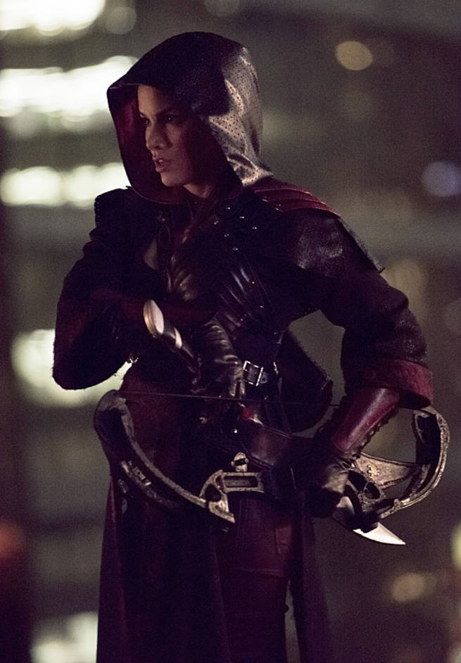 "Arrow -- ""Al Sah-Him"" -- Image AR321A_0313b -- Pictured: Katrina Law as Nyssa Al Ghul -- Photo: Dean Buscher/The CW -- © 2015 The CW Network, LLC. All Rights Reserved."