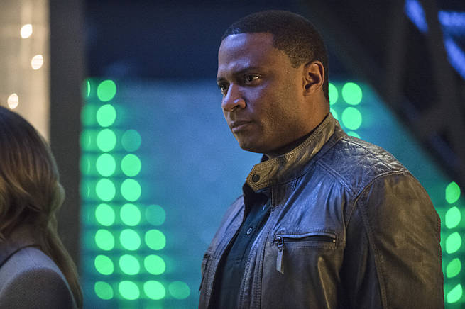 "Arrow -- ""Broken Arrow"" -- Image AR319B_0106b -- Pictured: David Ramsey as John Diggle -- Photo: Cate Cameron/The CW -- © 2015 The CW Network, LLC. All Rights Reserved"