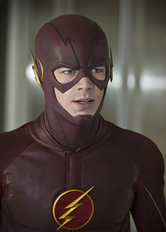 "The Flash -- ""All Star Team Up"" -- Image FLA118B_0132b -- Pictured: Grant Gustin as The Flash -- Photo: Cate Cameron/The CW -- © 2015 The CW Network, LLC. All rights reserved."