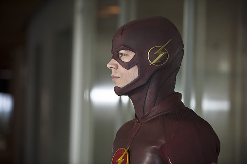 "The Flash -- ""All Star Team Up"" -- Image FLA118B_0124b -- Pictured: Grant Gustin as The Flash -- Photo: Cate Cameron/The CW -- © 2015 The CW Network, LLC. All rights reserved."