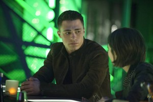 "Arrow -- ""Public Enemy"" -- Image AR318B_0406b -- Pictured: Colton Haynes as Roy Harper -- Photo: Cate Cameron/The CW -- © 2015 The CW Network, LLC. All Rights Reserved."