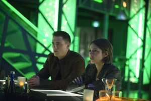 "Arrow -- ""Public Enemy"" -- Image AR318B_0400b -- Pictured (L-R): Colton Haynes as Roy Harper and Willa Holland as Thea Queen -- Photo: Cate Cameron/The CW -- © 2015 The CW Network, LLC. All Rights Reserved."