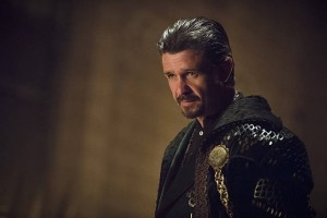 "Arrow -- ""Public Enemy"" -- Image AR318B_0046b -- Pictured: Matt Nable as Ra's al Ghul -- Photo: Cate Cameron/The CW -- © 2015 The CW Network, LLC. All Rights Reserved."