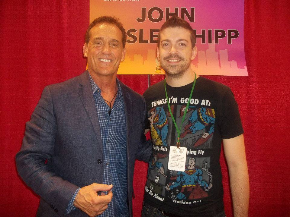 John Wesley Shipp and Myself at MCCC 2015