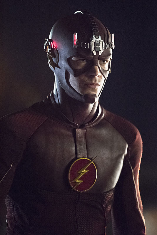 "The Flash -- ""Fast Enough"" -- Image FLA123C_0600b -- Pictured: Grant Gustin as The Flash -- Photo: Dean Buscher/The CW -- © 2015 The CW Network, LLC. All rights reserved."