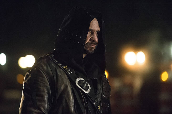 "Arrow -- ""My Name is Oliver Queen"" -- Image AR323C_0121b -- Pictured: Matt Nable as Ra's al Ghul -- Photo: Cate Cameron/The CW -- © 2015 The CW Network, LLC. All Rights Reserved."