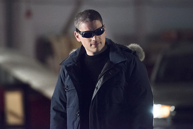 "The Flash -- ""Rogue Air"" -- Image FLA122A_0051b -- Pictured: Wentworth Miller as Leonard Snart / Captain Cold -- Photo: Dean Buscher/The CW -- © 2015 The CW Network, LLC. All rights reserved."