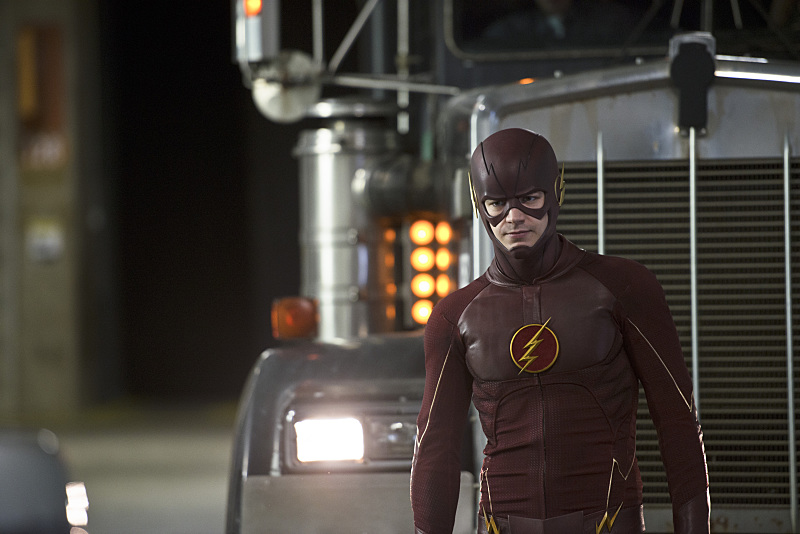 "The Flash -- ""Rogue Air"" -- Image FLA122B_0016b-- Pictured: Grant Gustin as Barry Allen / The Flash -- Photo: Diyah Pera/The CW -- © 2015 The CW Network, LLC. All rights reserved."