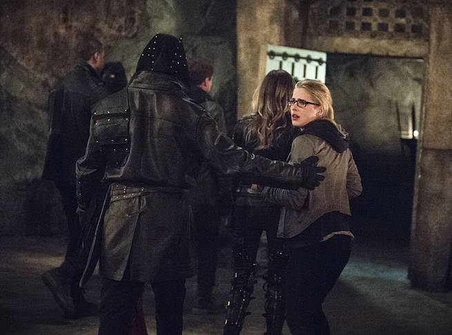 "Arrow -- ""This is Your Sword"" -- Image AR322B_0244b -- Pictured: Emily Bett Rickards as Felicity Smoak -- Photo: Cate Cameron/The CW -- © 2015 The CW Network, LLC. All Rights Reserved."