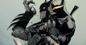 Batman vs. the Talon.
