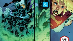 On this new Earth 2, Power Girl -- now Supergirl -- must work to live up to the legacy of her famous cousin.
