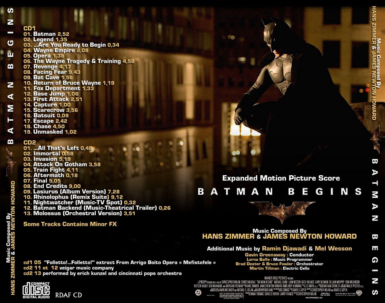 Soundtrack Cover Design 2