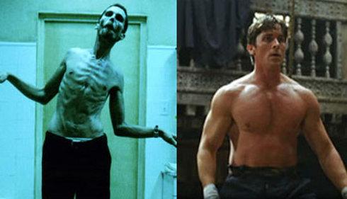 Bale transforms himself