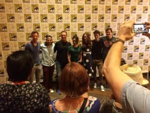 """""""The Flash"""" cast SDCC 2015"""