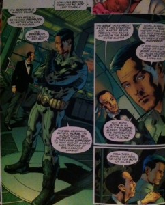 JLA 2 Bruce and Alfred