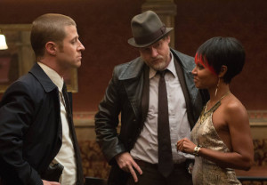 Detectives Gordon and Bullock question Fish Mooney