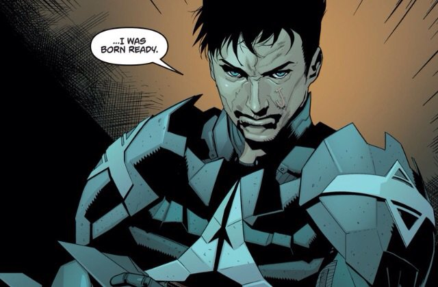 Revealed! Behind the mask is former is former sidekick Jason Todd who has a score to settle with Arkham City.