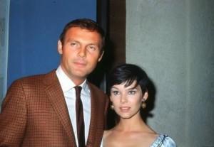 Adam West and Yvonne Craig (c. 1968)