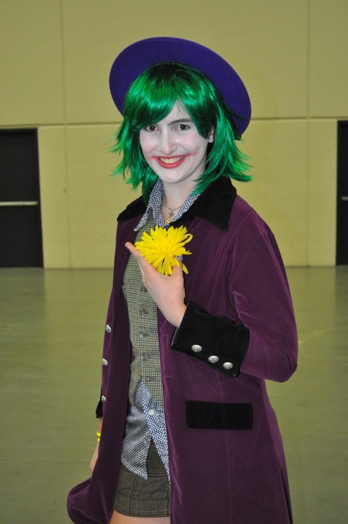 Gender switched Joker (Phillis Evans)
