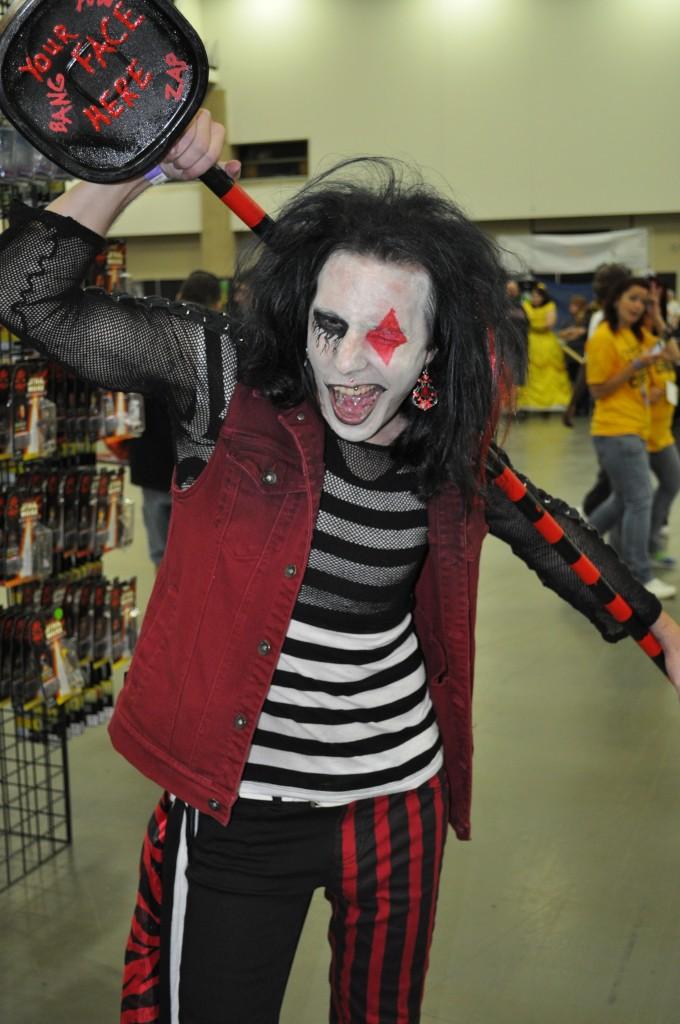 Gender switched Harley Quinn (Van Martigan)
