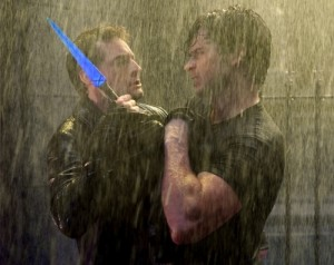 """""""Salvation"""" -- Callum Blue as Zod and Tom Welling as Clark Kent in SMALLVILLE, on The CW Network.  Photo: Jack Rowand/The CW  ©2009 The CW Network, LLC. All Rights Reserved."""