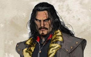 "An artist rendition of Vandal Savage as he may appear on The CW mid-season replacement ""DC's Legends of Tomorrow""."
