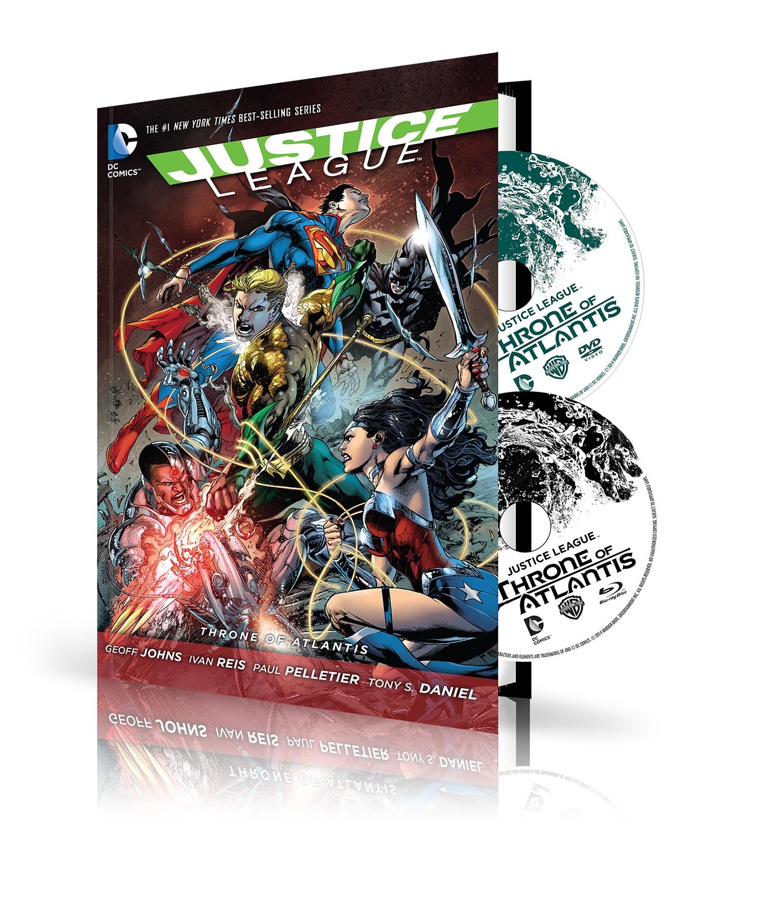 dccomicsnews graphic novel DVD