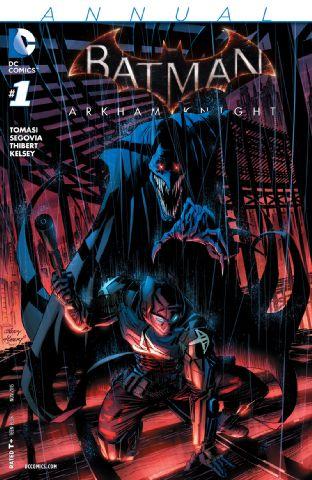 BATMAN ARKHAM KNIGHT ANNUAL # $4.99