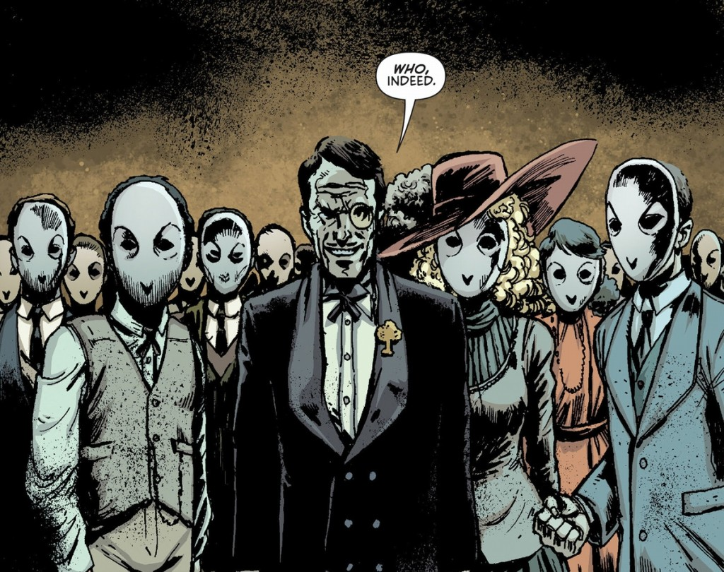 """Introduced into """"The New 52"""" Batman mythology, the Court of Owls revealed a darker nature to Gotham's high society."""