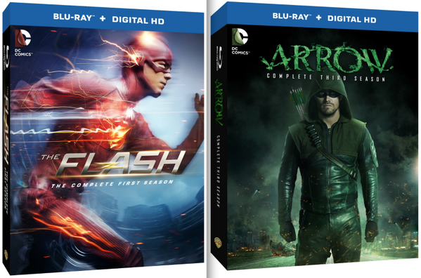 Finally your favorite DC Comics heroes come to life in these Blu-ray discs featuring the entire seasons.