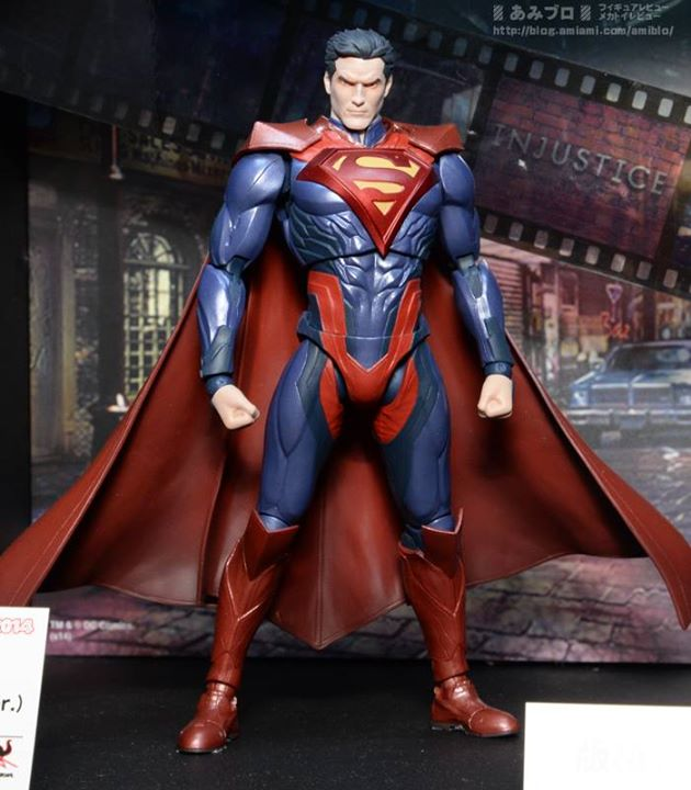 SUPERMAN INJUSTICE GODS AMONG US S.H. FIGUARTS AF $54.99