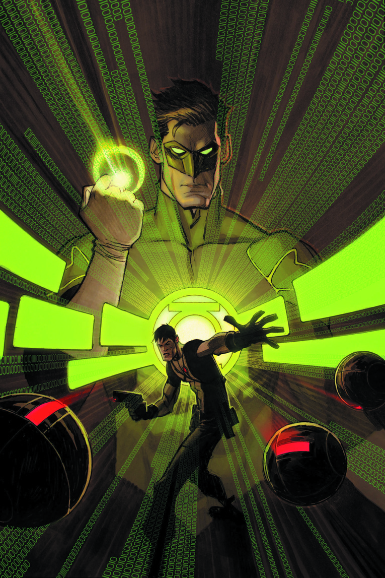 GRAYSON #12 (Andrew Robinson Green Lantern 75th)