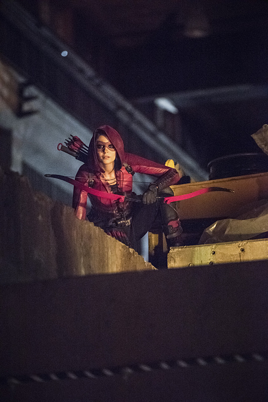 "Arrow -- ""Green Arrow"" -- Image AR401B_0032b -- Pictured: Willa Holland as Speedy -- Photo: Dean Buscher /The CW -- © 2015 The CW Network, LLC. All Rights Reserved."