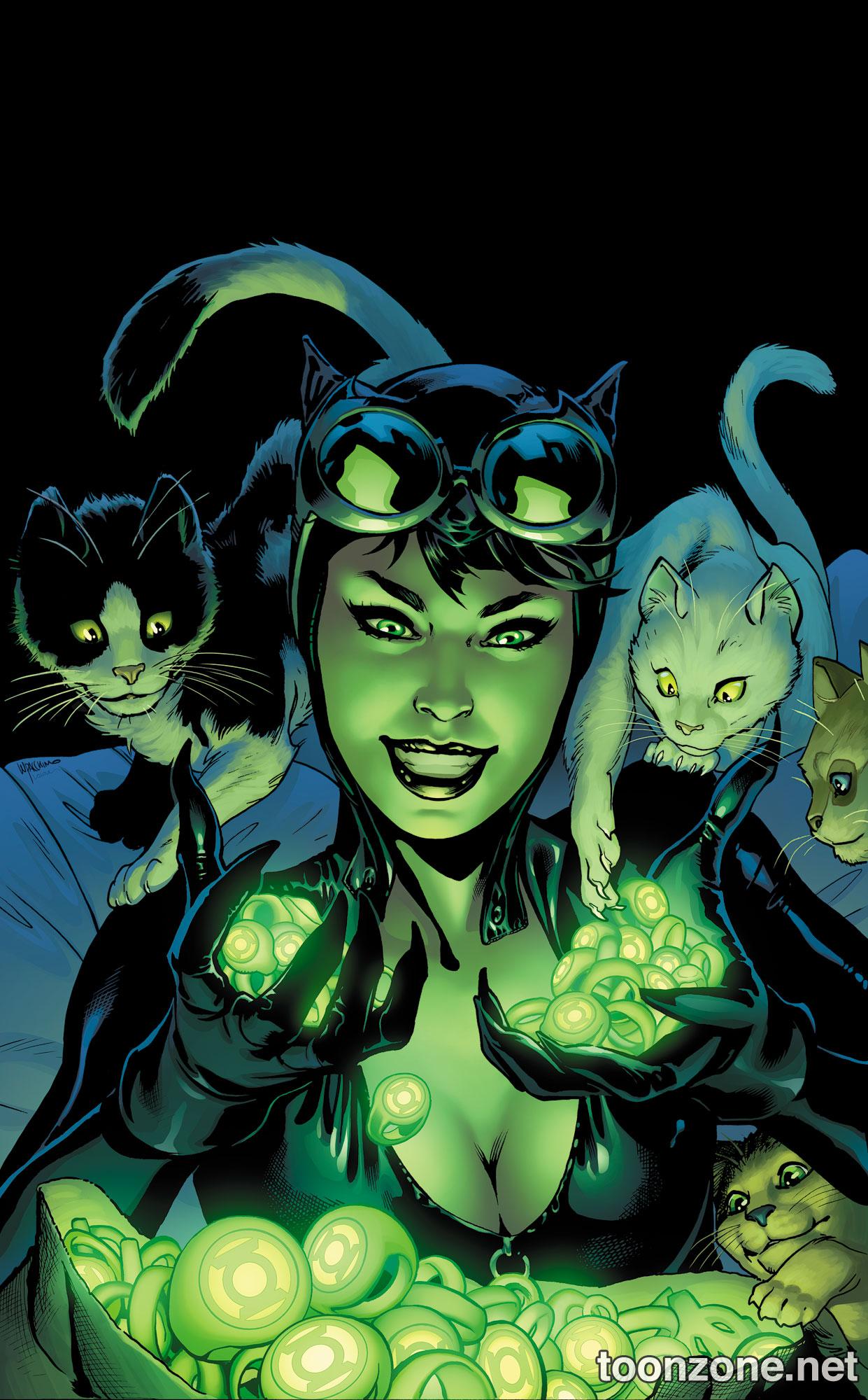 Catwoman #44 Green Lantern Variant