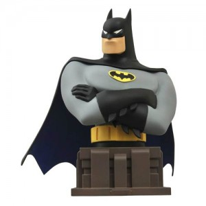 batman animated series batman bust