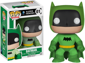 pop rainbow batman green vinyl