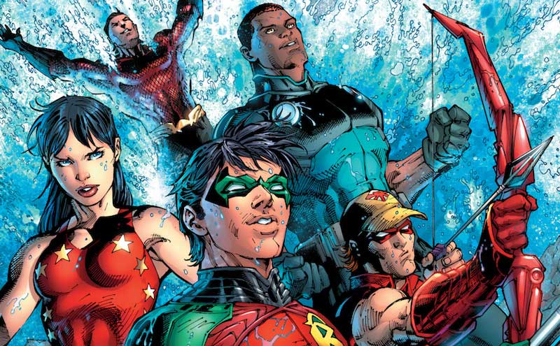 """Are the """"original"""" Teen Titans about to reemerge? Who is trying to pull them back together?"""